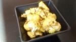 Chou fleur rôti au curry, amande et sésame (vegan, sans gluten)